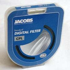 Jacobs Digital 72mm Polarizador Circular CPL Filtro RRP £ 49.99 Cir-Pl