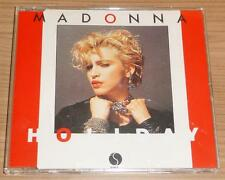 MADONNA Holiday GERMAN 2 TRACK YELLOW CD SINGLE MINT!!