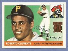 ROBERTO CLEMENTE 1998 Topps Reprint #1 Pirates (1955 Topps Rookie)