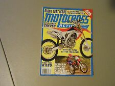 DECEMBER 2013 MOTOCROSS ACTION MAGAZINE,KAWASAKI KX85,HONDA CRF250,KTM 150SX,AMA