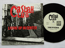 "CASBAH CLUB Living up in center FRENCH 7"" 45 BLACK & NOIR (1991) indie rock M/NM"
