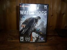 WATCH DOGS PERSONAL COMPUTER DVD GAME NEW