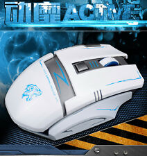 2.4G Wireless Rechargeable 2400DPI 6 Buttons Optical Laser Usb Pro Gaming Mouse