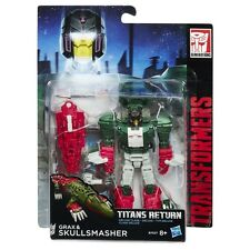 TRANSFORMERS GENERATIONS TITANS RETURN GRAX AND & SKULLSMASHER DELUXE CLASS NEW