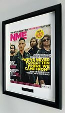 The Killers-Framed Original NME-Plaque-Certificate-RARE-Own A Piece Of HISTORY