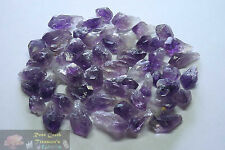 Amethyst Points 1/4 Lb Lots Natural Dark Purple Crystals Uruguay