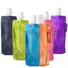 Hot Outdoor Travel Camping Folding Foldable Collapsible Plastic Bottle Bag Mug