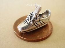 FOOTBALL - SOCCER BOOT STERLING SILVER CHARM CHARMS