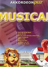 Akkordeon Noten : MUSICAL (Akkordeon pur) mittelschwer - schwer