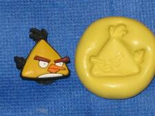 Chuck Angry Birds Yellow Silicone Push Mold #841 Craft Chocolate Resin Clay