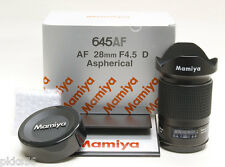 Mamiya 645 AFD III / AFD II / AFD Phase One 28mm/4.5 ASPHERICAL D lens