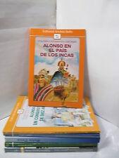 ALONSO EN EL PAIS DE LOS INCAS Graded Spanish Literature Libros en Espanol
