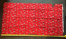 "University If Georgia Bull Dogs 43""x24"" Fabric For Crafts, Pillow, Corn Hole Bag"