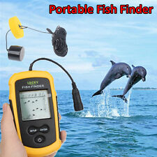 Lucky FF1108-1 100m Portable Sonar Sensor Fish Finder Alarm Transducer Ice Sea