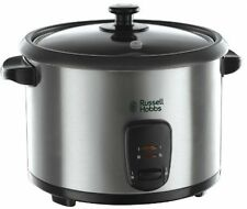 Russell Hobbs Rice Cooker And Steamer - 1.8 L - Silver | FAST AND FREE DELIVERY