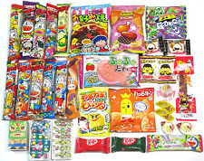 Dagashi Box 33Pcs Japanese Snacks Candy Chocolate Umaibo Japan Food Variety