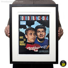 Tour de france 1964 magazine cover poulidor anquetil cyclisme velo poster print