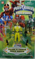 Power Rangers Time Force TF Fighter Yellow Ranger With Dual Weapon Action (MOC)