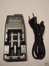 ULTRAFIRE WF-139 Lithium Ion Charger for 18650, 14500 Battery 3,6 or 3,7 Volt