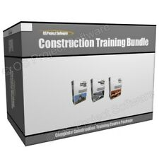 Construction Concrete and Masonry Roofing Training Course Program Bundle
