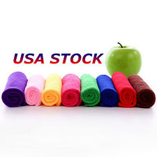 USA Practical Durable Soft Fiber Cotton Face/Hand Cloth Towels Washcloths