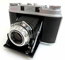 Agfa Super Isolette #UK3107 Klappkamera, Lens Solinar 3,5/75mm #U01581 bp075