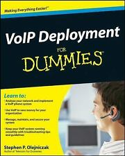 VoIP Deployment for Dummies by Stephen P. Olejniczak Paperback Book