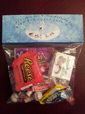 Disney Frozen Anna Elsa Goodie Treat Bag Toppers Birthday Party Favors 6 pc