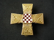 Croatia - Bosnia army, HVO, War Memorial Cross, 1992 - 1995, numbered; military