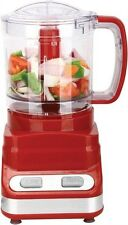 Brentwood 3 Cup Food Processor in Red (FP-548)