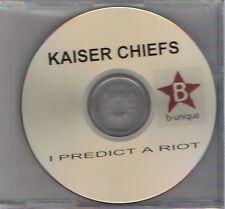 Kaiser Chiefs - I Predict A Riot - Rare b-unique 1 track promo CD