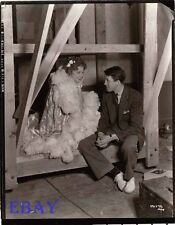 Jeanette MacDonald Photo from Original Negative Jimmy Stewart cadid