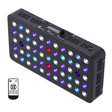 BLOOMSPECT 165W LED Aquarium Light Built-in Timer Coral Reefs SPS/LPS Dimmable