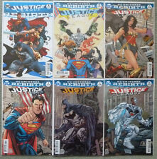 "JUSTICE LEAGUE ""REBIRTH"" #1 + #1-5 VARIANT SET..DC 2016 1ST PRINT..NM..BATMAN"