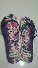 New Brazilian Women's Havainas Flip Flop Slim , Size US 11 /12 $24.99 Authentic