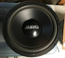 """NEW Old School MMATS PRO-12 Competition 12"""" Subwoofer,Rare,NOS,NIB,Vintage"""
