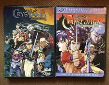 Legend of Crystania: The Motion Picture And The Chaos Ring Double Feature Dvd