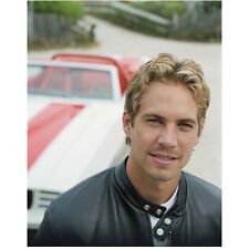 Paul Walker Close Up Shot with Car in Background 8 x 10 Inch Photo