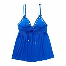 JUICY COUTURE Ultramarine Sexy Lace SLEEPING TOP CAMI Sz.S NWT $48 Retail