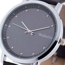 NEW Fashion Cool Sport Casual Quartz Wrist Watch Vintage Black Mens Wristwatch S