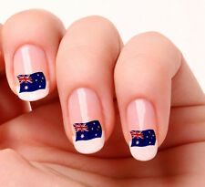 20 Nail Art Decals Transfers Stickers #232 - Australian Flag