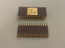 2x VINTAGE TOKO 3701 ceramic gold cap fingers pin chip IC collection CNC scrap