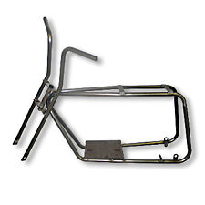 TACO STYLE VINTAGE MINI BIKE KIT FRAME FORKS DELTEK DECKSON MINI BIKE FRAME