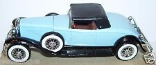 MINIATURE SOLIDO MADE FRANCE DUESENBERG J SPIDER 1931 BLEU CLAIR