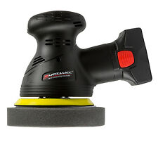 Motamec Cordless Palm Wax Polisher Sander Random Orbital 14.4V Lithium-Ion 2.0Ah