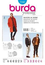 BURDA SEWING PATTERN MENS COAT & JACKET  SIZES 34 - 44 7142