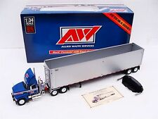 Allied Waste Mack Pinnacle 1:34 Diecast Truck + Tipper Trailer by 1st Gear - NEW