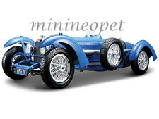 BBURAGO 18-12062 1934 34 BUGATTI TYPE 59 1/18 DIECAST MODEL CAR BLUE