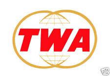 "TWA Airlines Logo Fridge Magnet 3.25""x2.25"" Collectibles (LM14009)"
