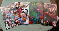 Action Comics New 52 4 issue lot 1 2 Sciver variant 23.1 23.2 3D Superman